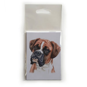 Fridge Magnet Dog Breed Gift featuring Boxer