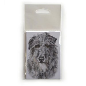 Fridge Magnet Dog Breed Gift featuring Deerhound