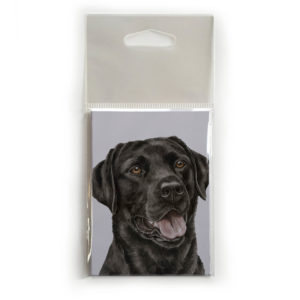 Fridge Magnet Dog Breed Gift featuring Black Labrador