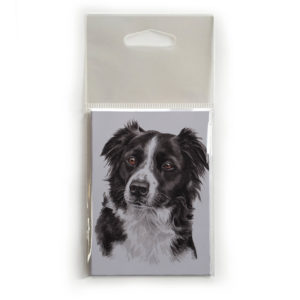 Fridge Magnet Dog Breed Gift featuring Border Collie