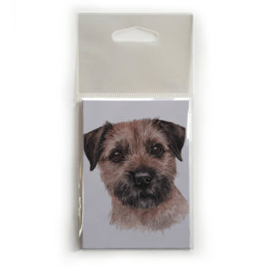 Fridge Magnet Dog Breed Gift featuring Border Terrier