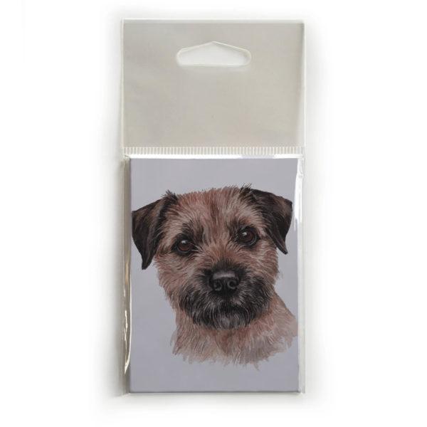 Fridge Magnet Dog Breed Gift featuring Border Terrier