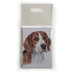 Fridge Magnet Dog Breed Gift featuring Beagle