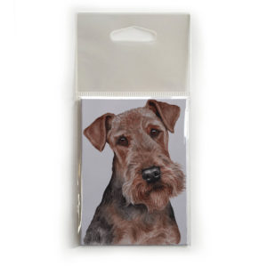 Fridge Magnet Dog Breed Gift featuring Airedale Terrier