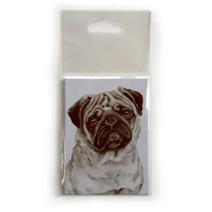 Fridge Magnet Dog Breed Gift featuring Pug
