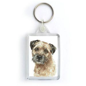 Border Terrier Dog KRG-245