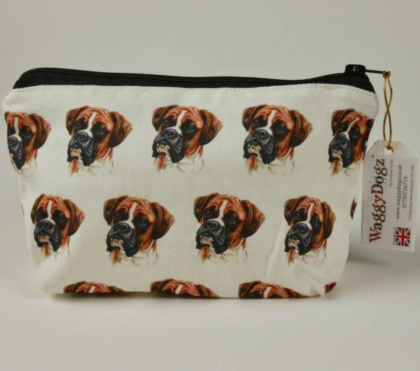 Boxer  Dog Makeup Bags MBG-03