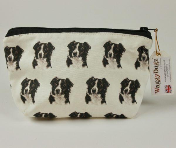 Border Collie  Dog Makeup Bags MBG-154