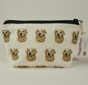 Golden Retreiver  Dog Makeup Bags MBG-92