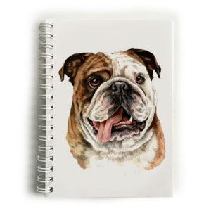 British Bulldog Notebook