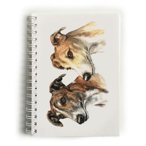 Greyhound Pair Notebook