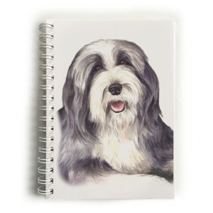 Bearded Collie Notebook