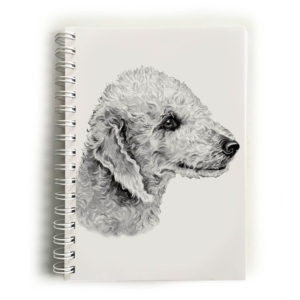 Bedlington Terrier Notebook