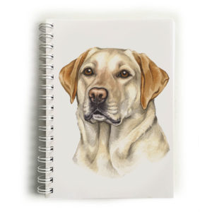 Golden Labrador Notebook