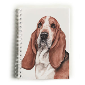 Basset Hound Notebook