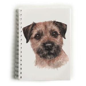 Border Terrier Notebook