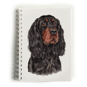 Gordon Setter Notebook
