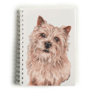 Norwich Terrier Notebook