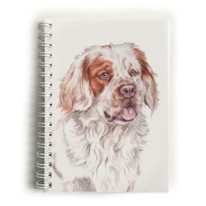 Clumber Spaniel Notebook