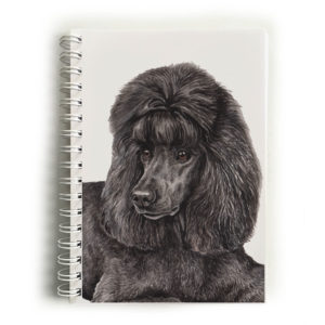 Black Poodle Notebook
