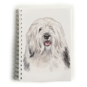 Old English Sheepdog Notebook