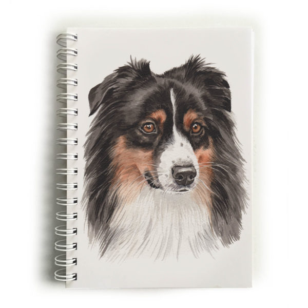 Australian Shepherd Notebook