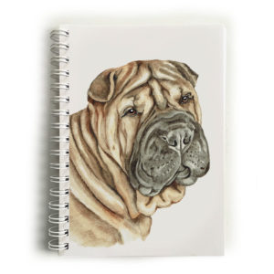 Shar Pei Notebook