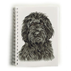 Black Cockapoo Notebook
