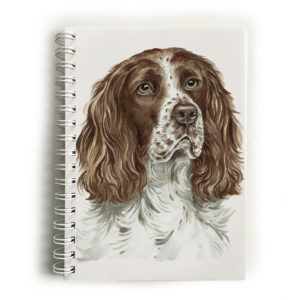 Springer Spaniel Dog Notebook