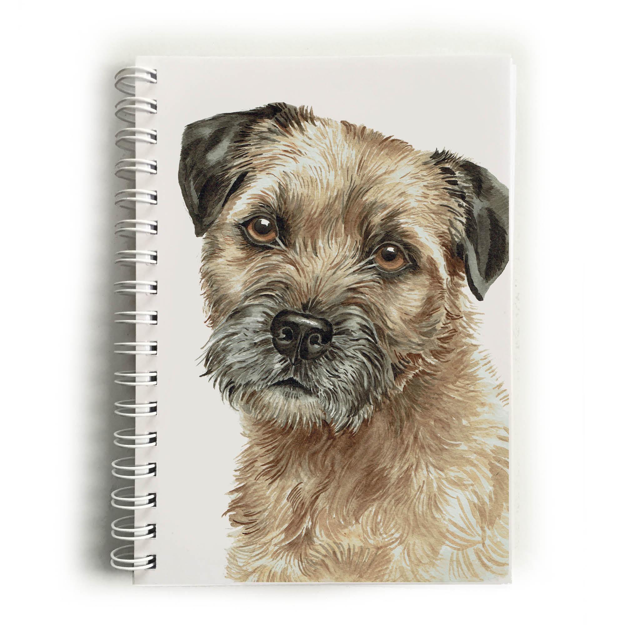 Border Terrier Dog Notebook