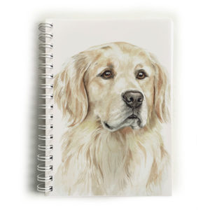 Golden Retriever Dog Notebook