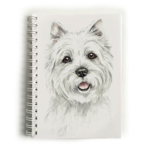 West Highland Terrier Dog Notebook