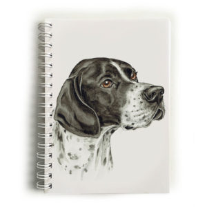 English Pointer Dog Notebook
