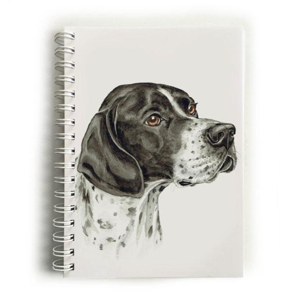 English Pointer Dog Notebook