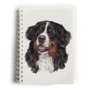 Bernese Mountain Dog Notebook