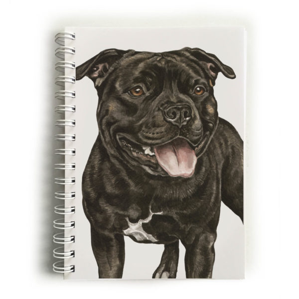 Staffordshire Bull Terrier Notebook