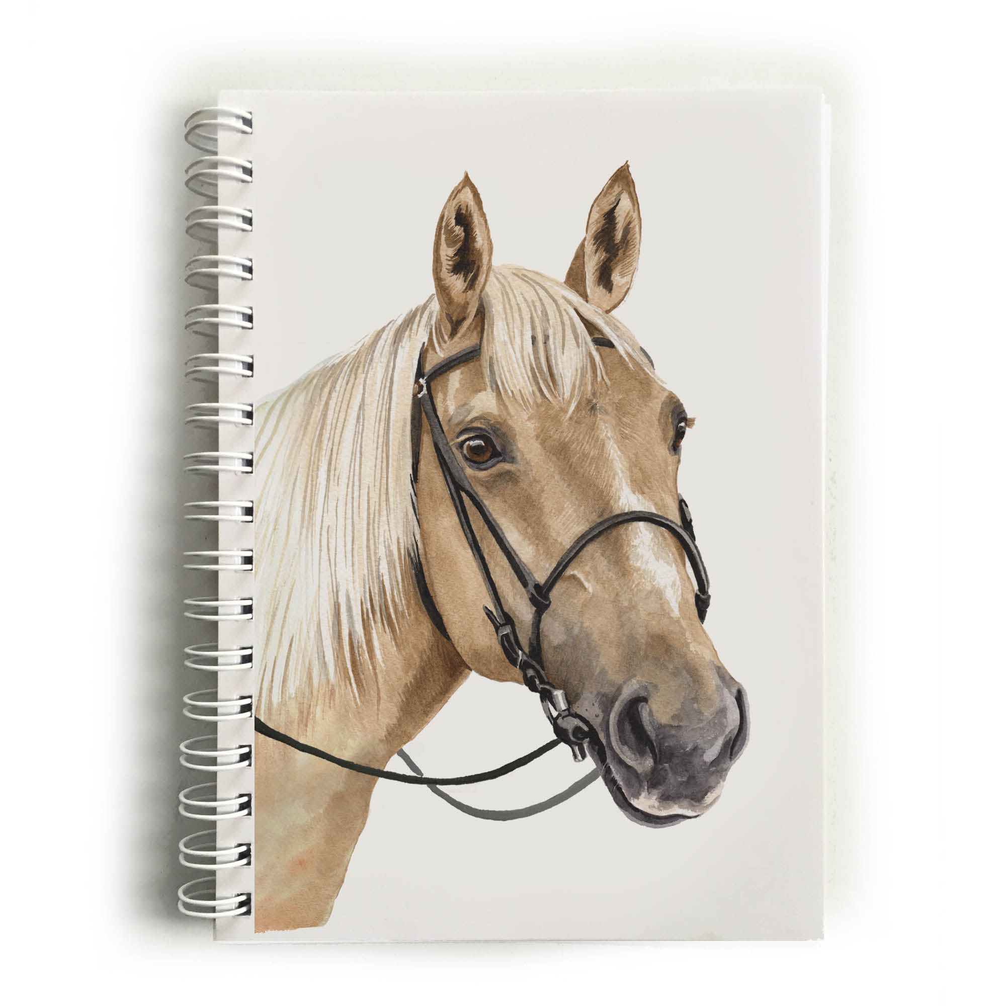 Palomino Horse Notebook Nbk Eq04 Waggydogz