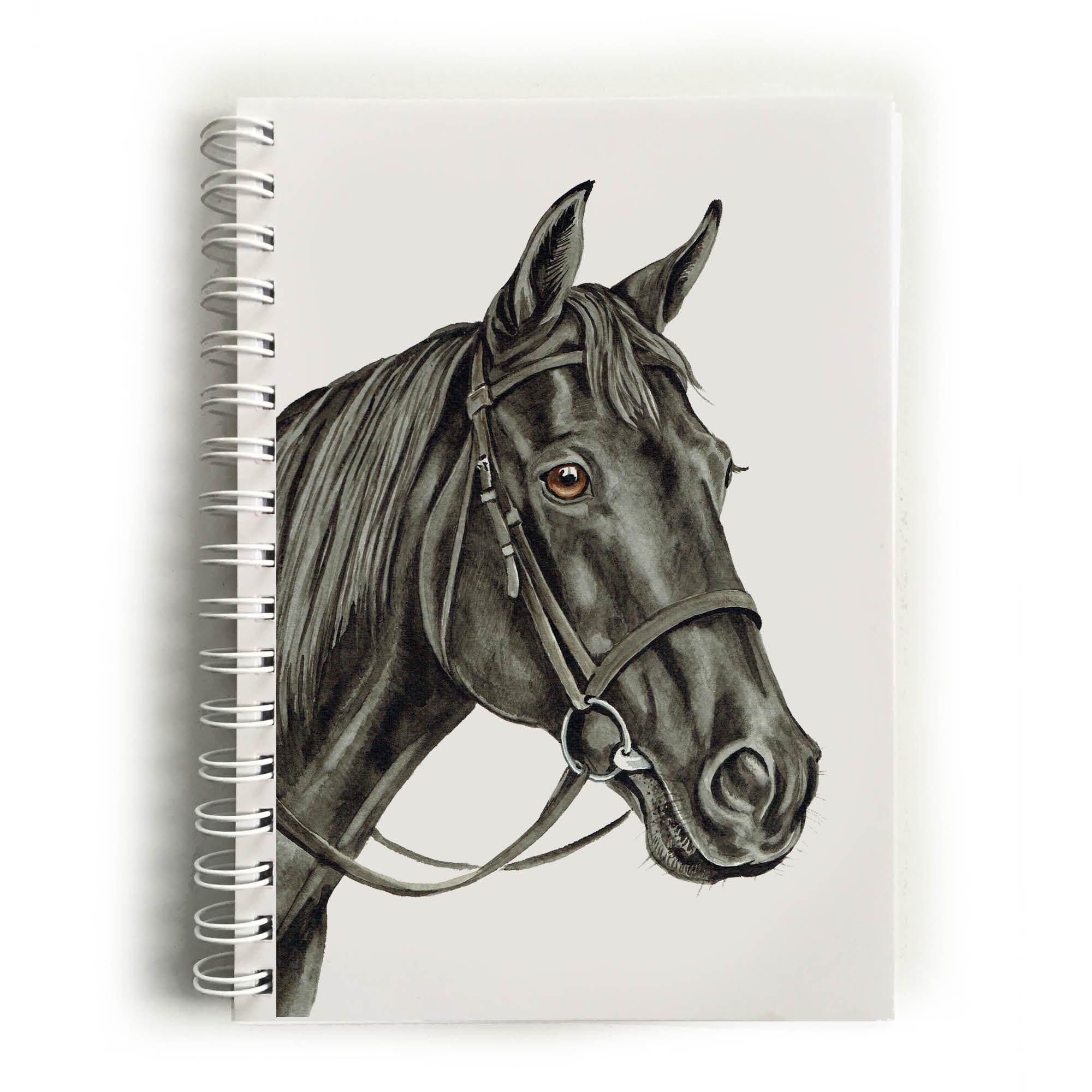 Black Horse Notebook Nbk Eq06 Waggydogz