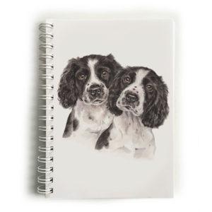 Springer Spaniel Puppies Springer Spaniels Notebook