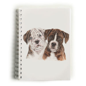 Boxer Puppies Boxer Notebook