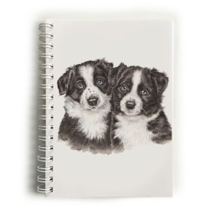 Border Collie Puppies Border Collies Notebook