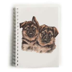 German Shepherd Puppies German Shepherds Notebook