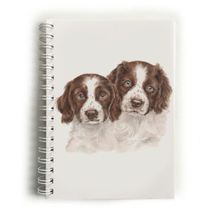 Springer Spaniel Puppies Springer Spaniels Notebook