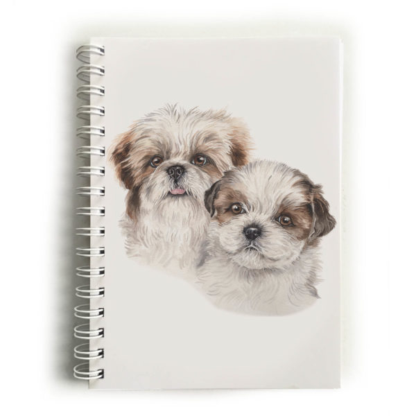 Shih Tzu Puppies Shih Tzus Notebook