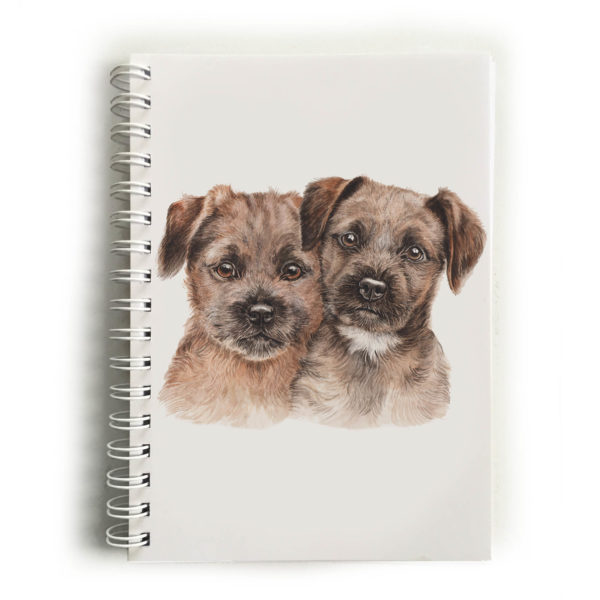 Border Terrier Puppies Border Terriers Notebook