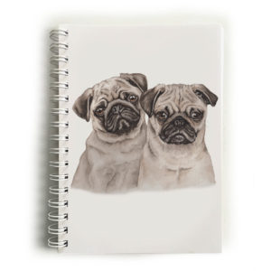Pug Puppies Pugs Notebook