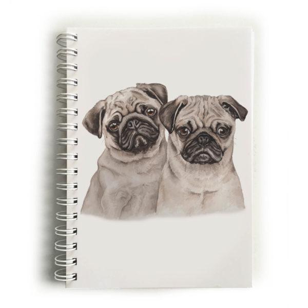 Pug Puppies Pugs Notebook
