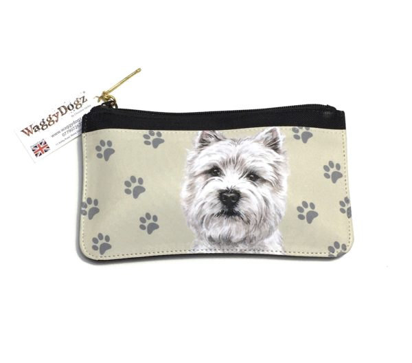 West Highland Terrier Dog Pencil Case Pouch Purse