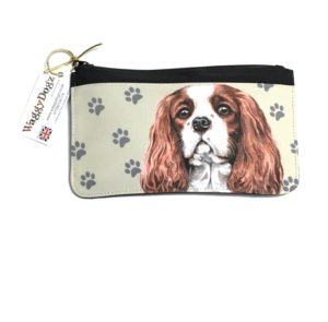 Cavalier King Charles Spaniel Dog Pencil Case Pouch Purse
