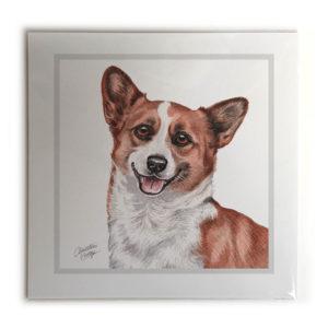 Corgi Dog Picture / Print